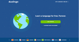 duolingo- learning new and foreign languages