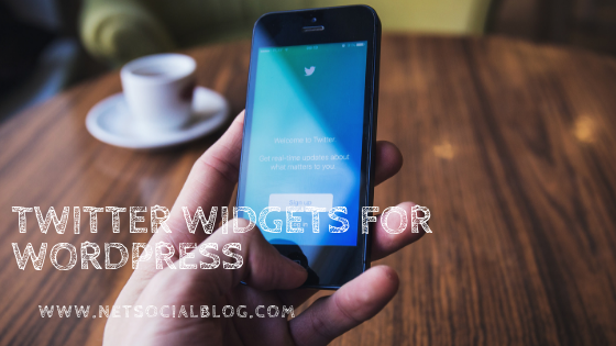 embed Twitter widgets on WordPress