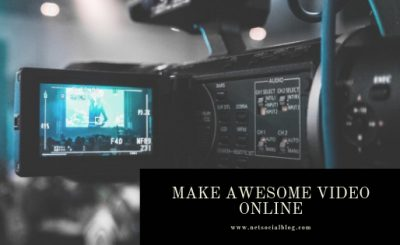 make marketing video online
