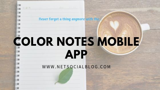 color notes mobile app