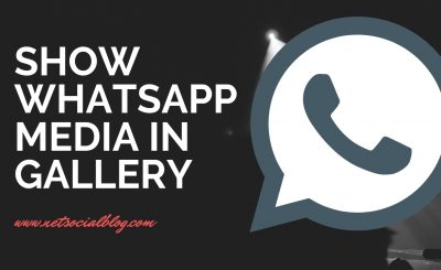 show whatsapp media in gallery phone
