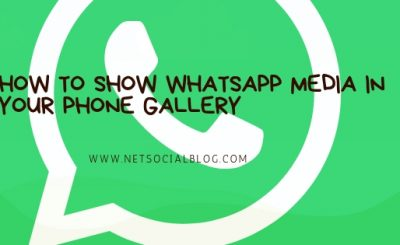 show whatsapp media in gallery